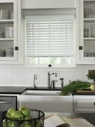 Shabby Chic Kitchen Blinds Complete A Neutral Colour Scheme With Simple Window Dressings In