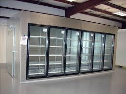 table top freezer glass door walk in display coolers new display walk in cooler with glass