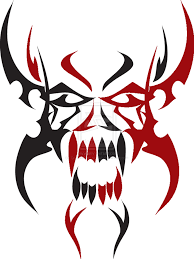 download tribal skull tattoos free png photo images and clipart