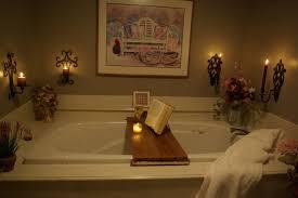 Bathroom Caddy Ideas Simple Diy Bathtub Reading Tray Made From Teak Wood With Book