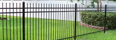 ornamental iron fence iron fence yukon ok