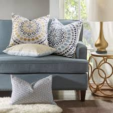 Yellow Throws For Sofas by Yellow Throw Pillows Shop The Best Deals For Oct 2017