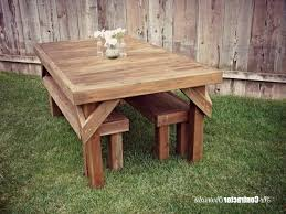 picnic table with separate benches wood picnic table plans fantastic picnic table plans free separate