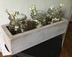 Wooden Centerpiece Boxes by Rustic Centerpieces Etsy