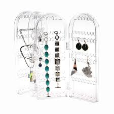 necklace holder case images Big acrylic jewelry organizer earrin end 6 22 2019 4 15 pm jpg