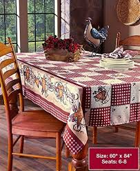 hearts and kitchen collection amazon com spivey kitchen decor table cloth linens