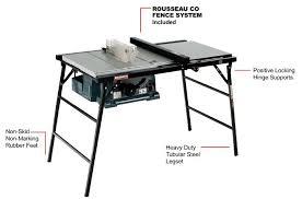 Folding Table Saw Stand Folding Table Saw Stand Sciatic