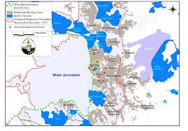 Jerusalem World Map by Reinforcing The Jewish Existence In East Jerusalem U2013 Poica