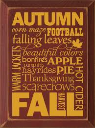 autumn with graphics wood sign country marketplace