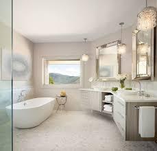 denver floating double vanity bathroom transitional with corner
