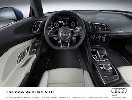 audi dashboard sharper lighter and more powerful u2013 the all new audi r8 heads for