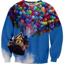 sweater house balloon house sweater