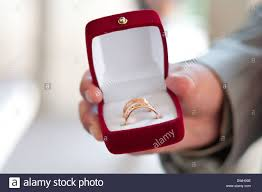 wedding ring in a box wedding rings in a box in stock photo royalty free