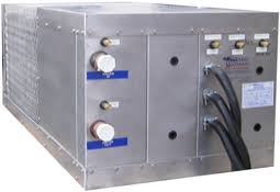 air cooled chiller systems for motor coaches buses and rvs