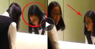 must watch ghost in the bathroom mirror caught on cam