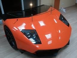 Lamborghini Murcielago Red - lamborghini murcielago turned into custom desk complete with
