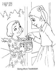 Smurf Coloring Pages Tree Giving The Fruit To A Boy Coloring Rosh Hashanah Colouring Pages