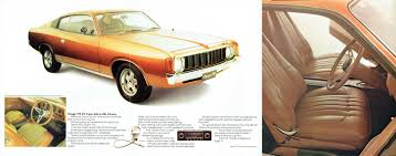 1973 chrysler vj valiant charger brochure
