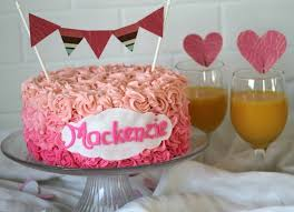 easy birthday cake decorating ideas for mom image inspiration of