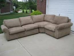Pottery Barn 3 Piece Sectional Cost To Transport A Pottery Barn Wheat Pearce 3 Piece Sofa