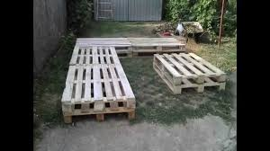 Patio Furniture With Pallets - pallet furniture project youtube