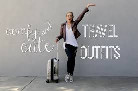 traveling outfits images Travel outfits comfortable cute rachel demita jpg