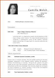 writing good resume good resume pdf moa format good resume pdf curriculum vitae examples cv writing