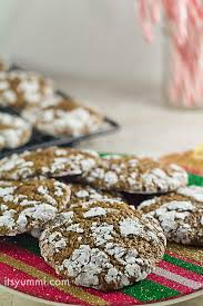 holiday cookie recipes low carb chocolate crinkle cookies