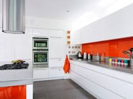 Orange And White Kitchen Ideas 24 Best Orange Splashbacks Images On Pinterest Kitchen Ideas