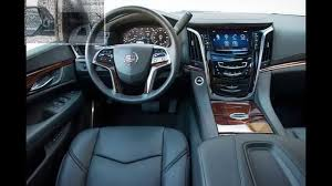 cadillac escalade luxury interior 2015 youtube