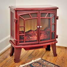 electric fireplace stove heater adam horton suite black western