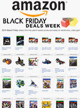 amazon black friday deals deals calendar posted for video games movies music u0026 software