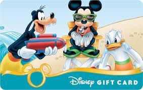 image mickey goofy donald 2014 summer disney gift card png