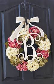 spring wreaths for front door best 25 door wreaths ideas on pinterest letter door wreaths