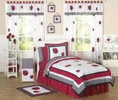 girls cotton bedding little laddy bug girls full bedding set with 4 piece bedding set