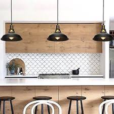 Black Pendant Lights For Kitchen Black Pendant Lights Ebay