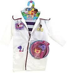 doc mcstuffins costume disney doc mcstuffins doctors coat costume set with