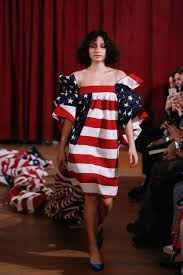Model American Flag Vaquera Fall 2017 Ready To Wear Collection Vogue