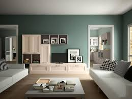 Popular Living Room Colors by Deep Green Wall Color For Contemporary Living Room Interior Design
