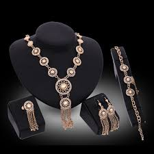 bracelet ring jewelry images Match right women african jewelry sets of necklace earring jpg