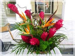 tropical flower arrangements tropical flower arrangements