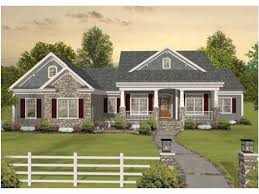 One Story Ranch House Plans by Ranch Craftsman House Plans One Story House Design And Office