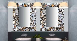 bathroom mirrors miami glass decorative mirrors contemporary bathroom miami with