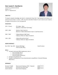 resume and cover letters exle of resume cover letter resume template