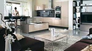 deco cuisine salon idee deco cuisine ouverte stunning cool salon cuisine cuisine salon