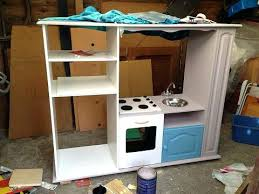 fabriquer une cuisine enfant comment transformer un meuble tv en cuisiniare pour enfants