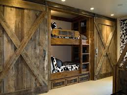 Barn Style Interior Design Barn Door Bunk Bedsthe Chic Technique Bunk Bed Ideas Barn Style