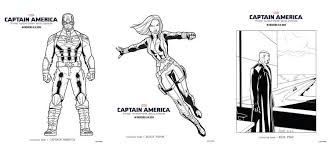 captain america winter solider free coloring pages u0026 tv