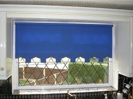 Blue And White Striped Blinds Roller Blinds The Kent Window Blinds Company