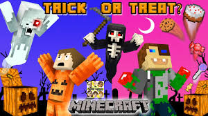 halloween horror nights 25 map minecraft halloween trick or treat candy run challenge grim